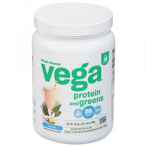 Vega Gluten Free Protein & Greens Vanilla Flavor
