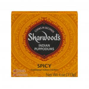 Sharwood's Spicy Puppodums