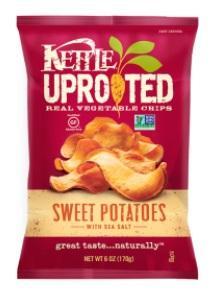 Kettle Brand Sweet Potato Sea Salt Chips