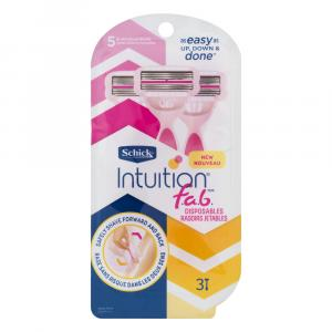 Schick Intuition Fab Disposable Razors