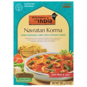 Kitchens of India Navratan Korma Dinner