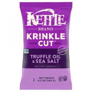 Kettle Brand Krinkel Cut Truffle & Sea Salt Potato Chips