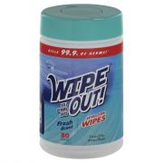 Wipe Out Antibacterial Wipes Fresh Scent