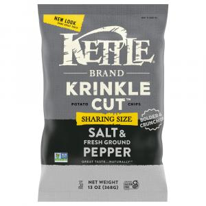 Kettle Brand Krinkle Cut Salt & Fresh Ground Pepper
