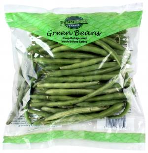 Green Beans Unwashed and Unsnipped