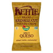 Kettle Brand Krinkle Cut Spicy Queso Potato Chips