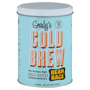 Grady's Cold Brew New Orleans Style Concentrate Bean Bags