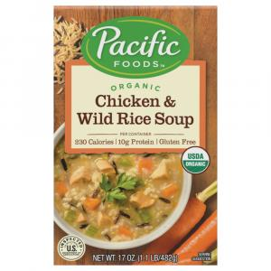 Pacific Natural Foods Organic Chicken & Wild Rice Soup