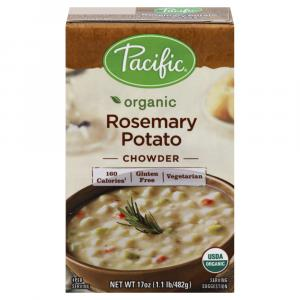 Pacific Rosemary Potato Chowder