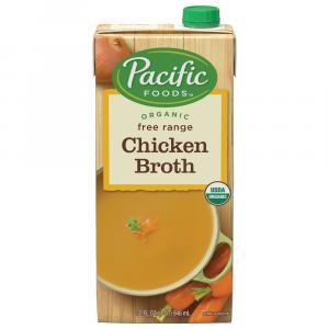 Pacific Natural Foods Organic Chicken Broth