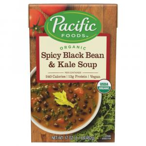 Pacific Natural Foods Organic Spicy Black Bean & Kale Soup