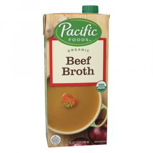 Pacific Natural Foods Organic Beef Broth
