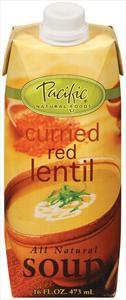 Pacific Curried Red Lentil Soup