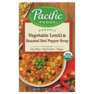 Pacific Natural Foods Vegetable Lentil & Roasted Red Pepper