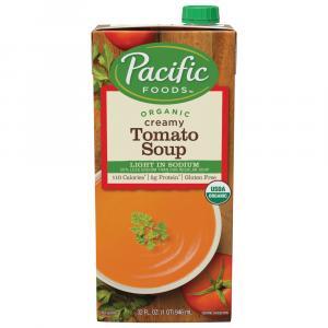 Pacific Foods Organic Light In Sodium Creamy Tomato Soup