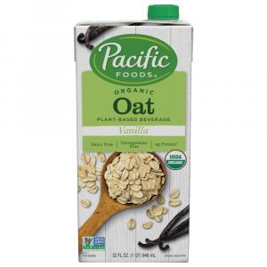 Pacific Natural Foods Organic Vanilla Oat Beverage