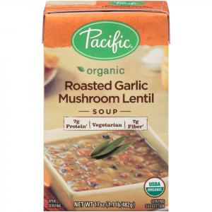Pacific Natural Foods Roasted Garlic Mushroom Soup