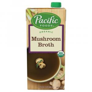 Pacific Natural Foods Organic Mushroom Broth
