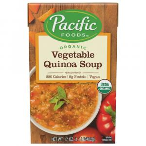 Pacific Natural Foods Organic Vegetable Quinoa Soup