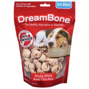 Dream Bone Vegetable & Chicken Mini Chews