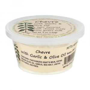 Nettle Meadow Goat's Milk Garlic & Olive Oil Cheese