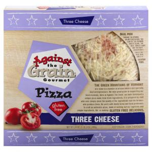 Against The Grain Gourmet Three Cheese Pizza