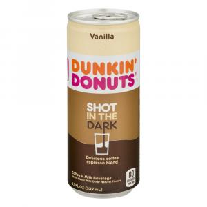 Dunkin Donuts Shot in the Dark Vanilla