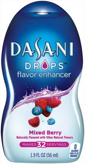 Dasani Drops Mixed Berry