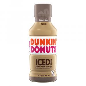 Dunkin' Donuts Iced Coffee Cookies & Cream