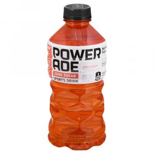 Powerade Zero Sugar Citrus Peach Sports Drink