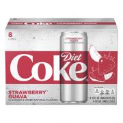 Diet Coke Strawberry Guava