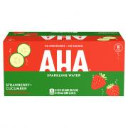 AHA Sparkling Water Strawberry and Cucumber
