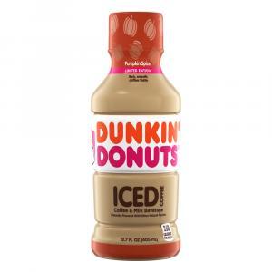 Dunkin Donuts Iced Coffee Pumpkin Spice