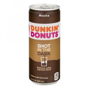 Dunkin Donuts Shot in the Dark Mocha