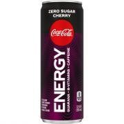 Coke Energy Zero Sugar Cherry