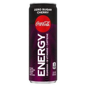 Coke Energy Zero Sugar Cherry