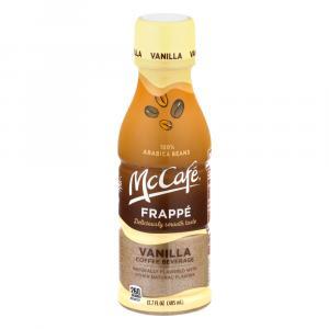 Mccafe' Frappe Vanilla Iced Coffee
