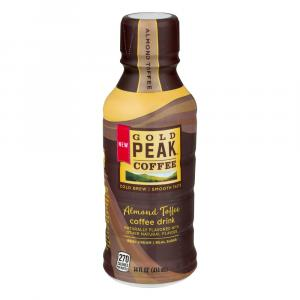 Gold Peak Coffee Almond Toffee