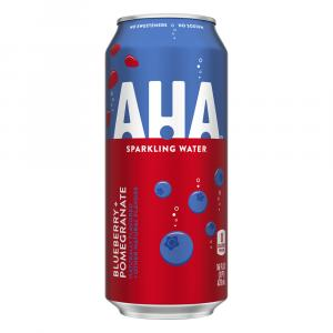 AHA Sparkling Water Blueberry and Pomegranate