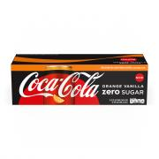 Coca Cola Zero Orange Vanilla