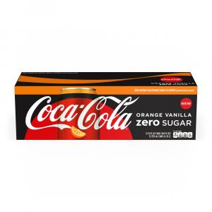 Coca-Cola Zero Sugar Orange Vanilla