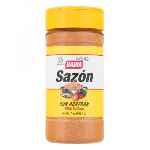 Badia Sazon With Saffron