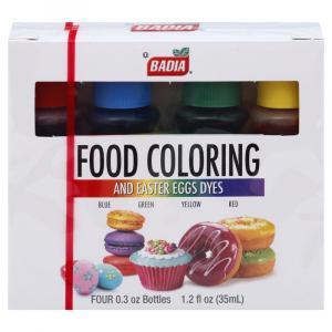 Badia Food Colors