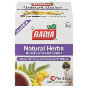Badia Natural Herbal Tea Bags