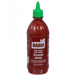 Badia Sriracha Hot Sauce with Garlic