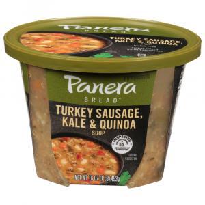 Panera Turkey Sausage, Kale & Quinoa Soup