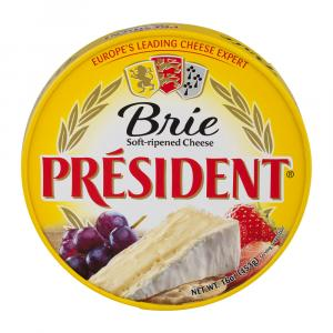 President Mini Plain Brie Cheese
