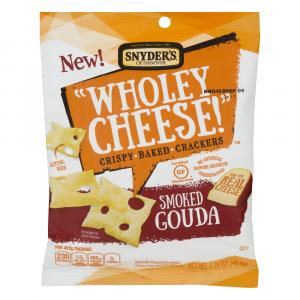 """Snyder's Of Hanover """"wholey Cheese!"""" Smoked Gouda Crispy"""