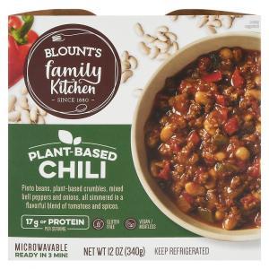 Blount's Family Kitchen Plant Based Chili