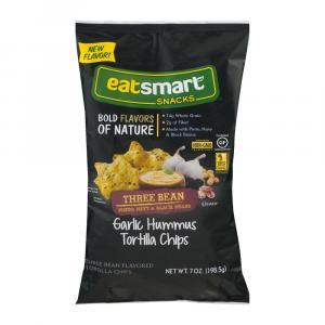 Snyder's of Hanover Eatsmart Garlic Hummus Tortilla Chips